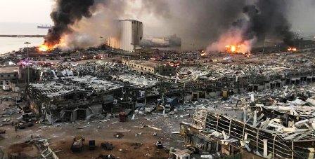 Aggravation du bilan de l'explosion du port de Beyrouth
