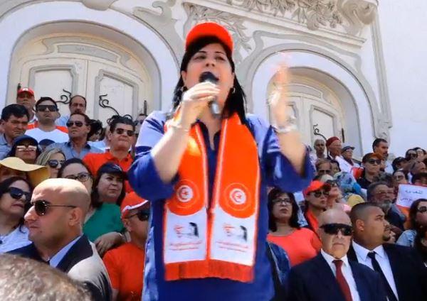 Tunisie: Le PDL d'Abir Moussi en tête des intentions de vote de 14 points devant Ennahdha