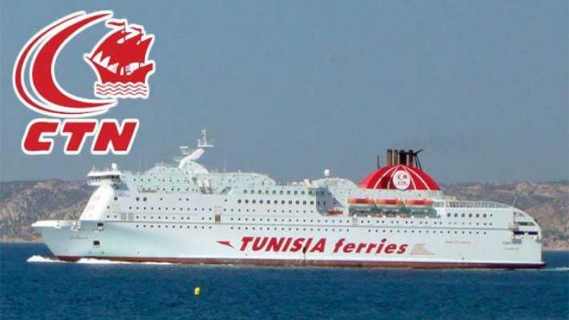 Tunisie : Annulation d'une desserte du car-ferry CARTHAGE à destination de Marseille