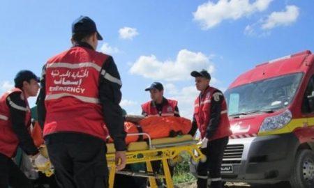 Tunisie: 13 blessés dans un accident de la route