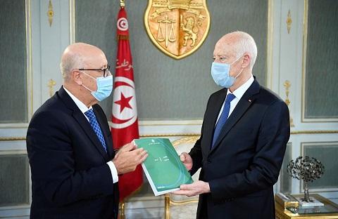 Tunisie: Kaïs Saïed reçoit le rapport 2019 de la Banque centrale