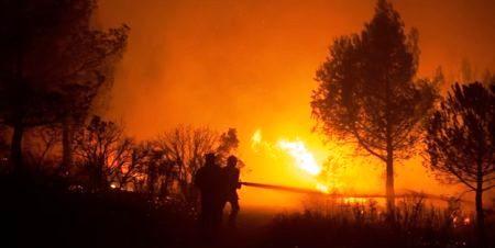 Tunisie – Des incendies simultanés encerclent la ville de Hammamet