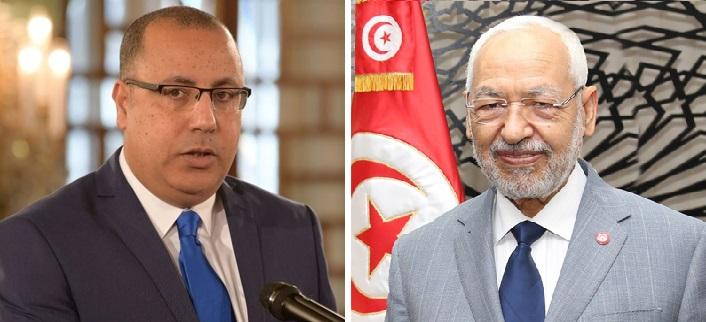 Tunisie – Mechichi a rencontré Ghannouchi avant la réunion de la Choura
