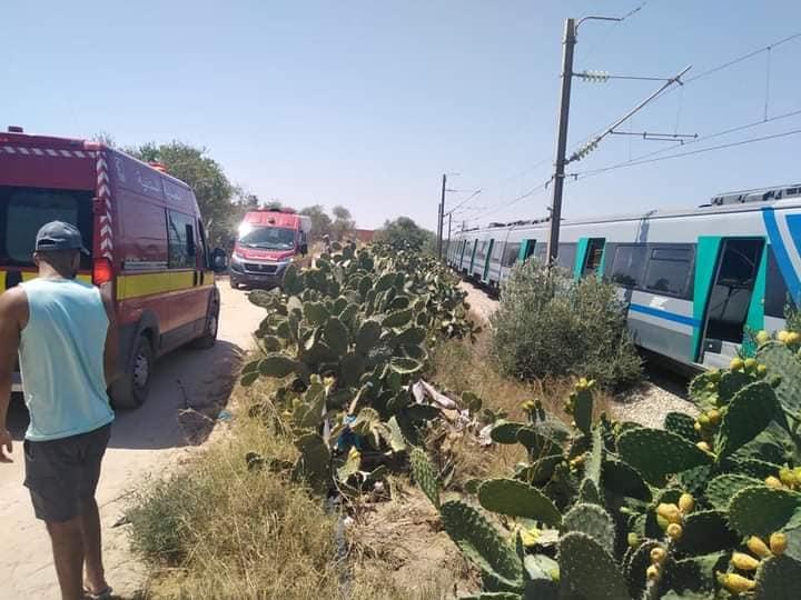 Tunisie: Déraillement d'un train sur la ligne reliant Mahdia à Sousse