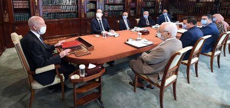 Tunisie – Saïed aux chefs des partis: Pas question de valider le gouvernement pour demander à le modifier peu de temps après!