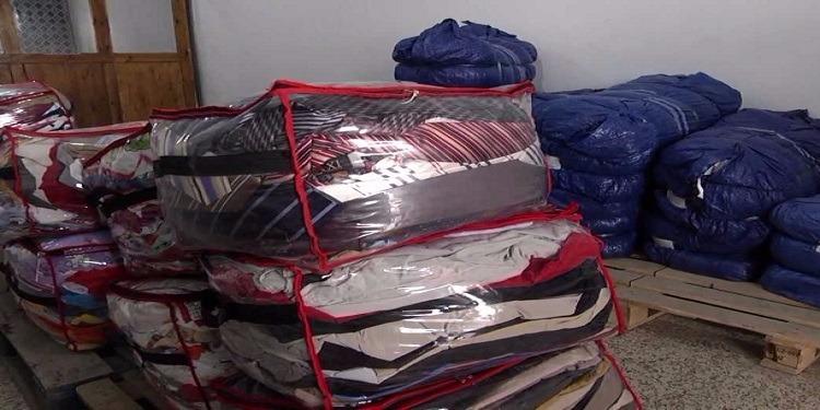 Tunisie: Saisie d'une quantité de vêtements de contrebande à Béja
