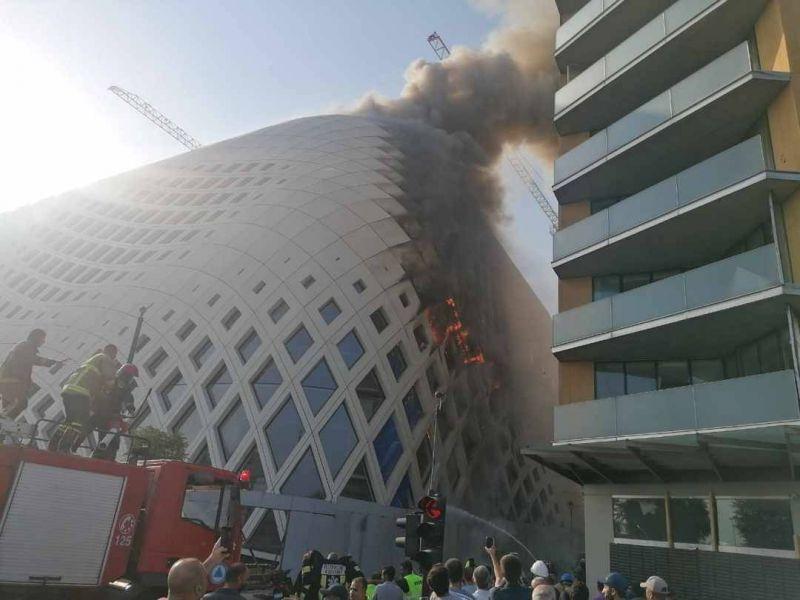 Liban : Un nouvel incendie se déclare à Beyrouth