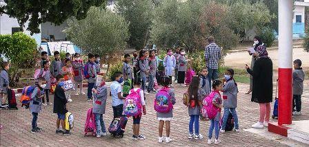 Tunisie – Infection par la Covid du directeur d'une école primaire à Sousse