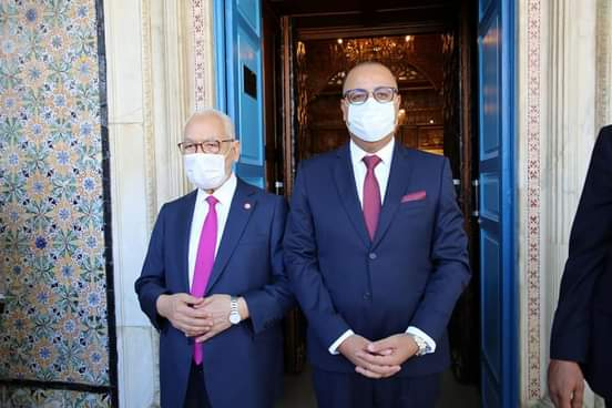 """Ghannouchi à Mechichi : """"On va vous surveiller et vous soutenir"""""""