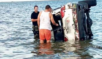 Tunisie: Trois agents de la Garde nationale blessés dans le renversement de leur véhicule en mer à Monastir
