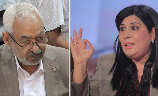 Tunisie: Rached Ghannouchi a perdu confiance comme président du Parlement, selon Abir Moussi