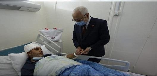 Tunisie: Rached Ghannouchi au chevet du député Ahmed Mouha