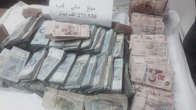 Tunisie: Plus de 270.000 dinars non déclarés saisis en possession d'un homme