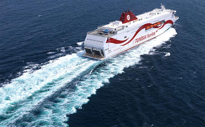 Tunisie: La CTN annonce des changements de certaines traversées des bateaux Carthage et Tanit