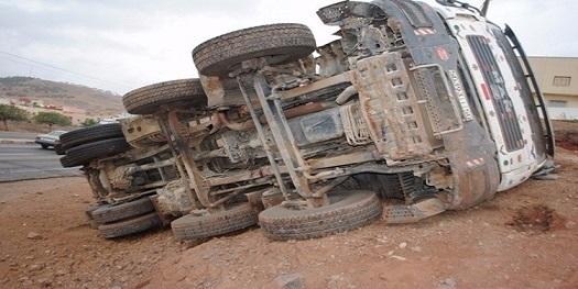 Tunisie: Un décès et deux blessés dans le renversement d'un camion à Kairouan