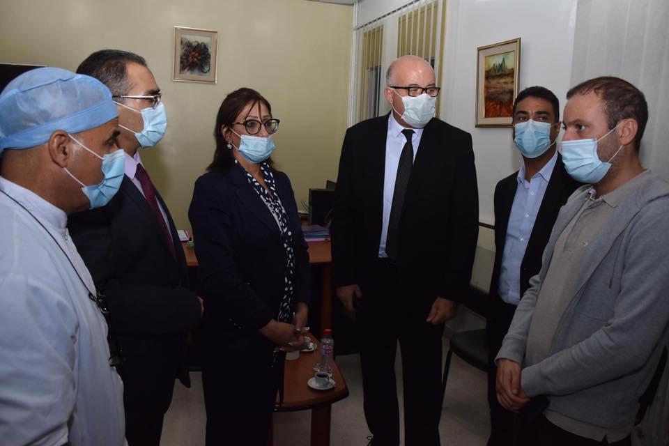 Tunisie: Attaque de Sousse: Le ministre de la Santé au chevet de Rami Limam [photos]