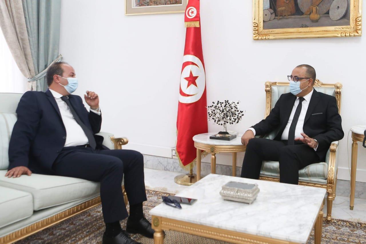 Tunisie : Hichem Mechichi reçoit Hatem Mliki