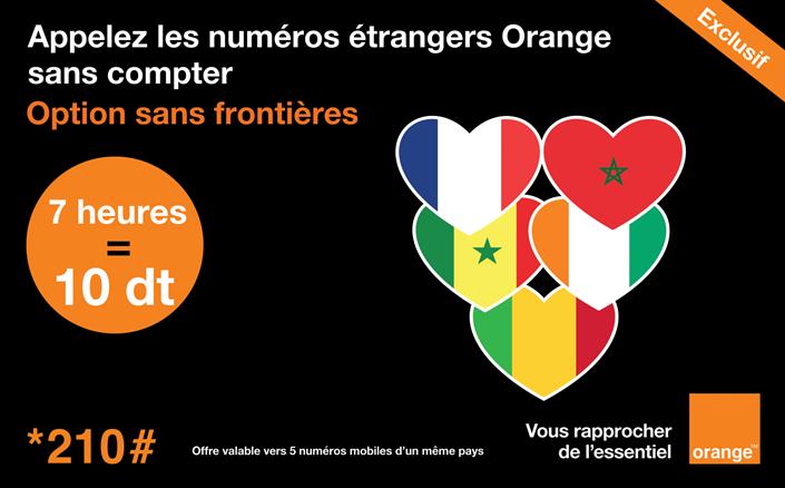 Orange lance en exclusivité de nouvelles options vers les numéros Orange à l'international