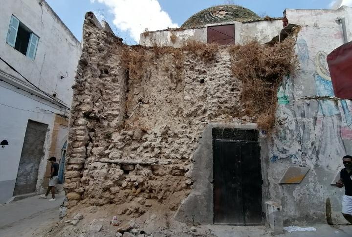 Photo du jour : La Médina de Tunis ravagée…