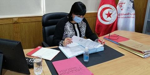 Tunisie: Les députées du PDL en sit-in