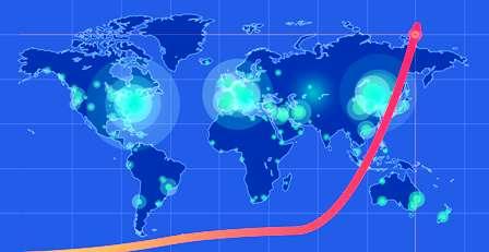 Covid: Triste record: Les nouvelles infections dépassent les 400 mille par jour dans le monde