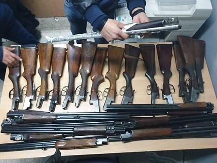 Tunisie: Saisie de 36 fusils de chasse et 40 chargements de drogue depuis le début de l'année à Kasserine