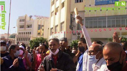 Tunisie – VIDEO: Sfax: Manifestation des propriétaires et salariés des cafés et des restaurants