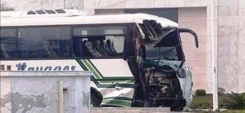 Tunisie – DERNIERE MINUTE : plusieurs blessés dans la collision entre deux bus à l'Avenue Mohamed V à Tunis