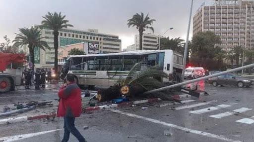 Tunisie – Des défauts de la signalisation routière ont causé l'accident à l'avenue Mohamed V