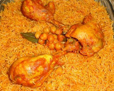 Recette : Vermicelles tunisiennes au poulet (Douida mfawra)