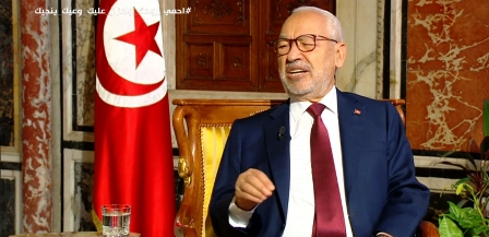 Tunisie – Ghannouchi adresse un clin d'œil (pas très gentil) à Kaïs Saïed