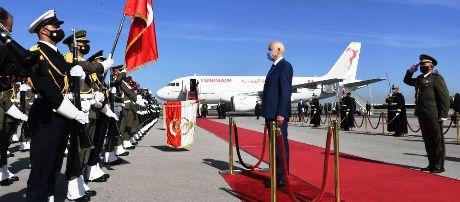 Tunisie – Départ de Kaïs Saïed pour le Qatar