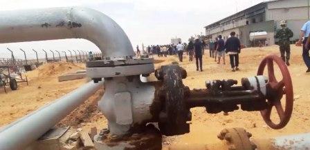 Tunisie – La production journalière en pétrole et gaz après la réouverture de la vanne d'Al Kamour