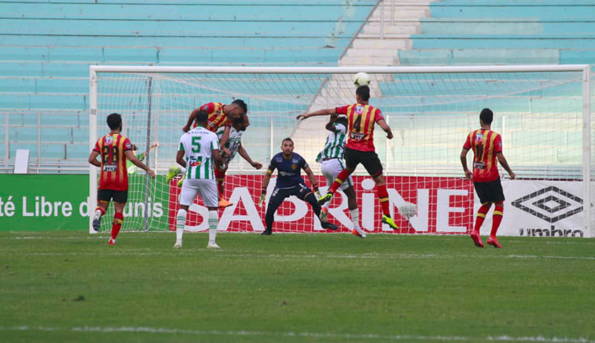 Ligue 1 : L'Espérance de Tunis accrochée par l'AS Soliman