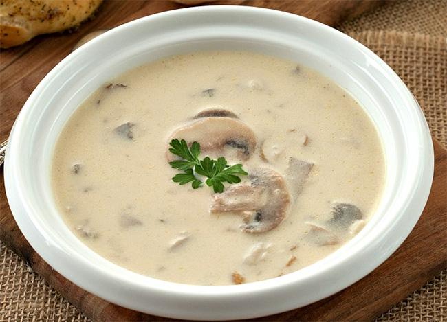 Recette : Soupe de champignons