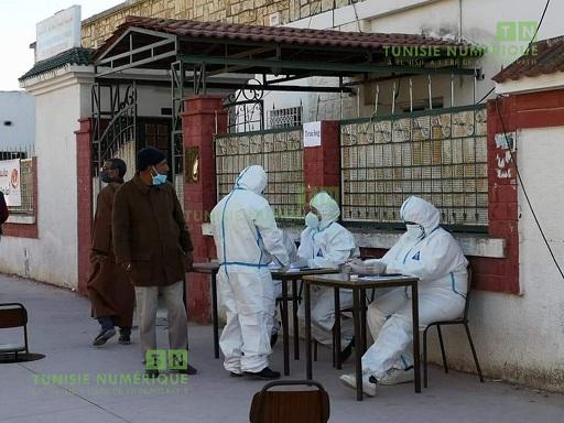 Tunisie: En images, campagne de dépistage du virus corona à Jendouba