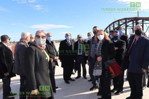 Tunisie [Photos]: Visite d'une délégation gouvernementale à Jendouba