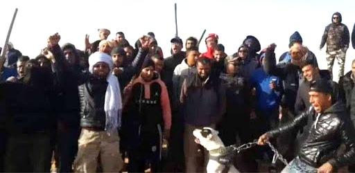 Tunisie – Protestation à Douz après l'arrestation de quelques citoyens