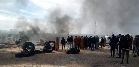 Tunisie – Des protestataires qui voulaient investir une station de pompage de SERGAZ dispersés par des tirs de sommation