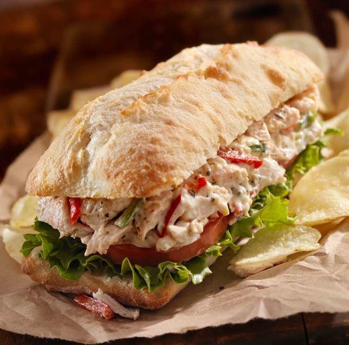Recette : Sandwich à l'italienne ( Pain ciabatta )