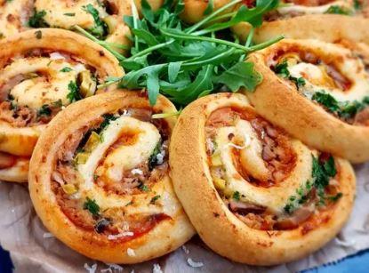 Recette : Pizza roulée