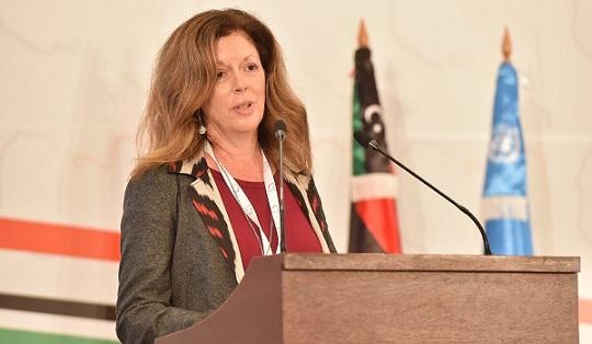 Stéphanie Williams met en garde contre l'existence de 10 bases militaires et 20.000 combattants étrangers en Libye