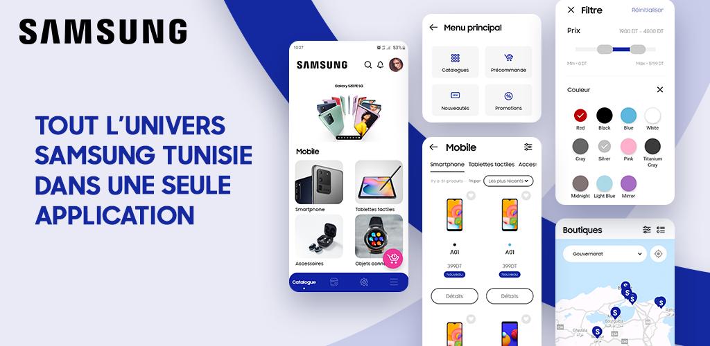 SamsungTN : La nouvelle application Mobile de SAMSUNG Tunisie
