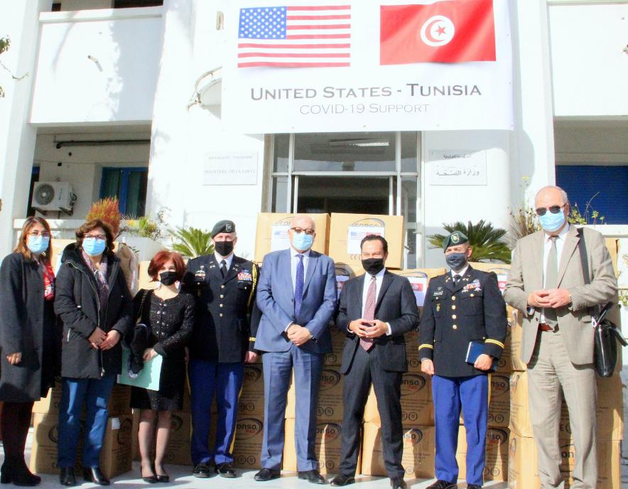 Coronavirus: Les Etats-Unis déterminés à accélérer l'acheminement du vaccin vers la Tunisie
