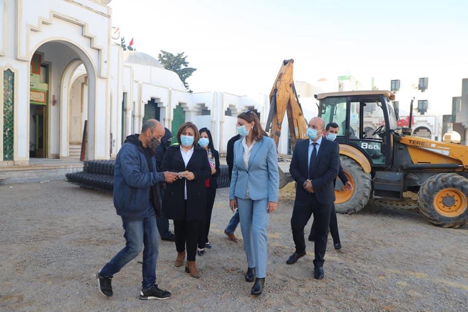Photo du jour: Malgré la crise de la COVID, la Cheikha de Tunis consacre 915 mille dinars pour réaménager la fontaine de Bab Souika