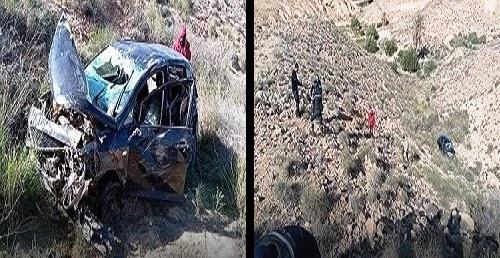 Tunisie – Impressionnant accident de la route à l'entrée de Matmata
