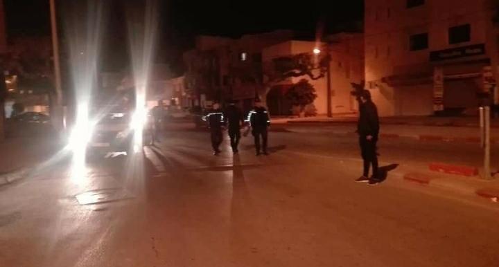 Sousse: Les forces de l'ordre face à des jeunes individus ayant tenté de cambrioler une banque