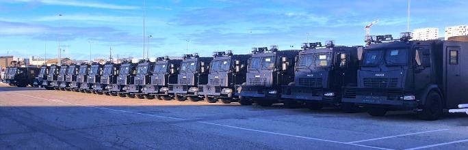 Tunisie – Les nouveaux joujoux de la police tunisienne arrivent à bon port!