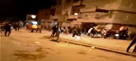 Tunisie – Moknine: Reprise des affrontements nocturnes