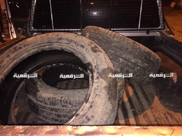 Tunisie : Saisie de pneus destinés à alimenter des émeutes à Béja [Photos]